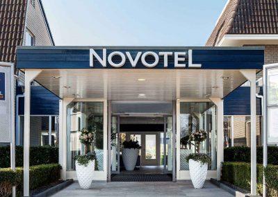 Hotel Novotel Breda Ingang